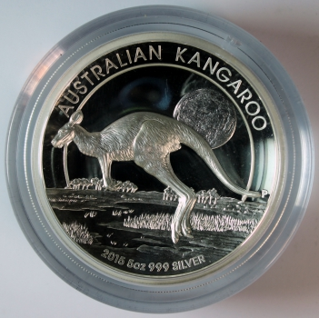 Australien 8 Dollars 2015 Känguru PP - Proof - High Relief